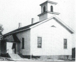 1859 church on Van Buren Street in East Dundee