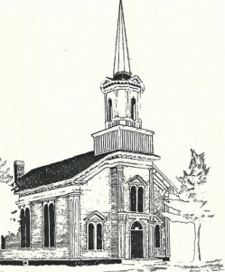 Former Baptist church, built in 1865 and purchased by our Methodist congregation in 1922